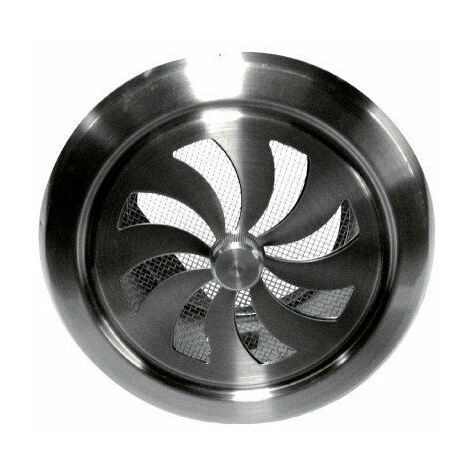 Grille inox réglable ronde 100