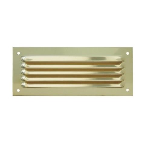 Grille métal horizontale à auvent DMO