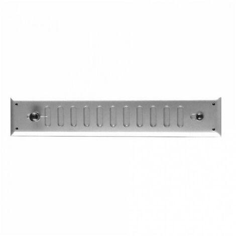 Grille métallique rectangulaire réglable- plusieurs modèles disponibles