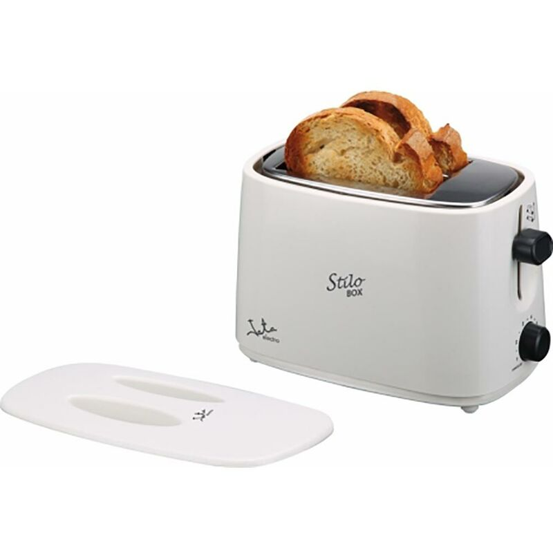 Toaster Cooker 2 tranches 750W Blanc Jata