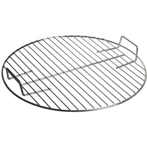 Grille pour barbecue ronde Pyla - Diam. 43 cm - Gris