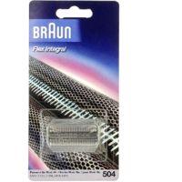 Grille rasoir 504 grise series 5000 pour Rasoir Braun