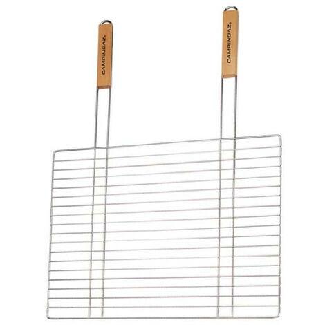 "main image of ""Grille rectangulaire simple S CAMPINGAZ - pour barbecue - double manche - 53x39cm"""