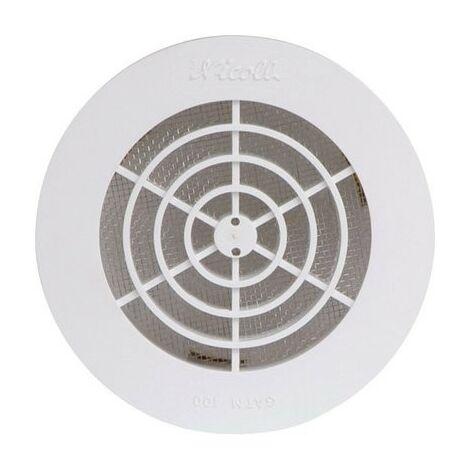 """main image of """"Grille ronde Girpi Ø Tube PVC 160 D x d 180 x 146 Passage d'air (cm²) 127 Type Gatm 160"""""""