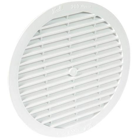 Grille ronde moustiquaire passage de 200 cm²