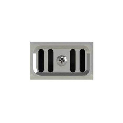 Grille Trop Plein Rectangulaire D Evier Inox Valgr618