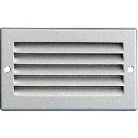 Grille ventilation 100x60mm Aluminium ou Inox