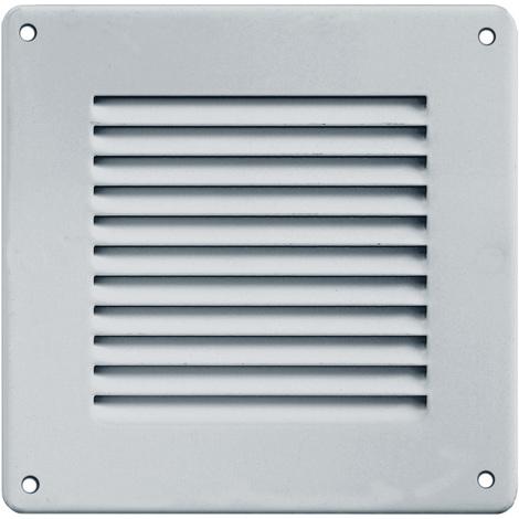 Grille ventilation 140x140mm Aluminium ou Inox