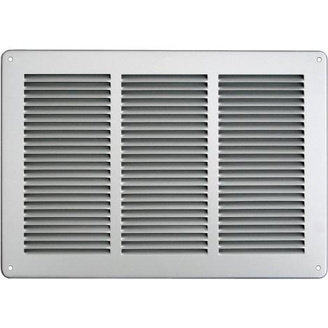Grille ventilation 340x240mm Aluminium ou Inox