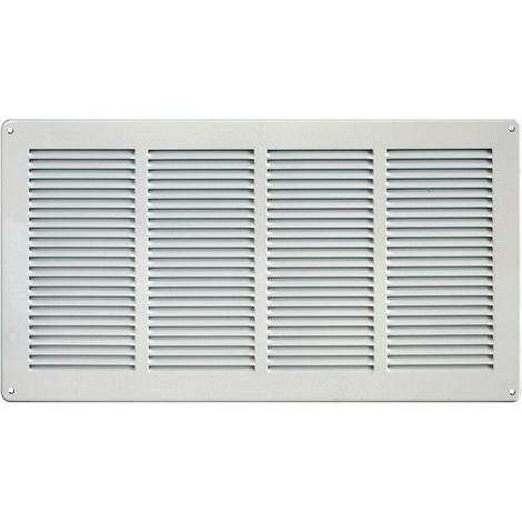 Grille ventilation 440x240mm Aluminium ou Inox