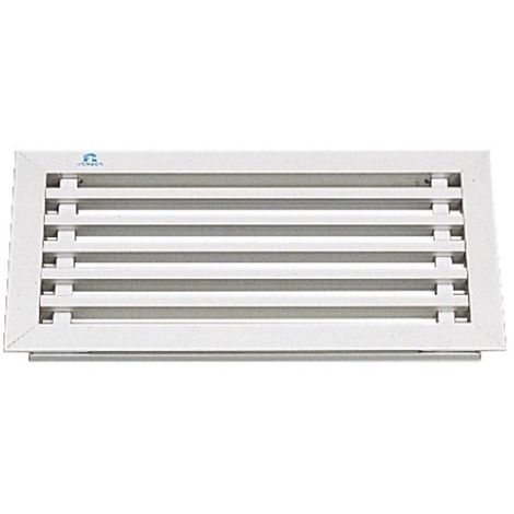 Grilles cache-radiateur 394 aluminium anodisé naturel - profil lame longueur 2,80m