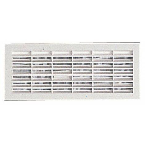 Grilles de ventilation rectangulaires à encastrer 108 x 314 mm - avec moustiquaire