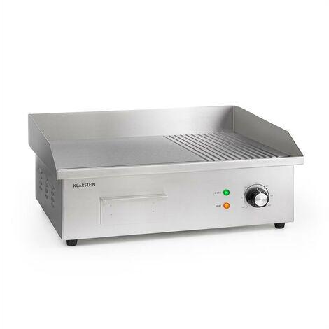 Grillmeile 3000GR Pro Barbecue électrique 3000 W plaque de cuisson lis