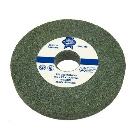 Pack of 2 Replacement grinding wheels for Bench Grinders 150mm fine and coarse