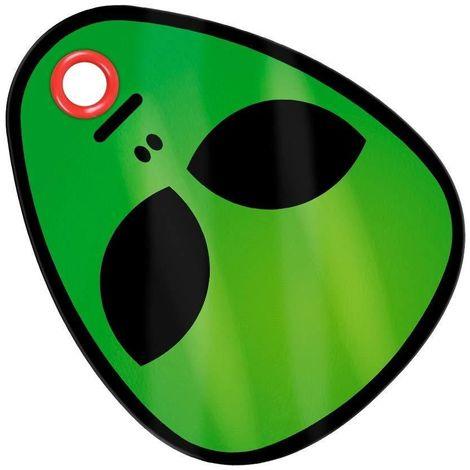 Grindstore Alien Chopping Board (One Size) (Green)
