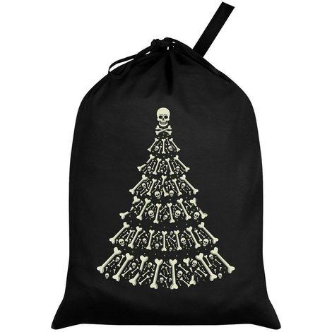 Grindstore Alternative Xmas Black Santa Sack (One Size) (Black)