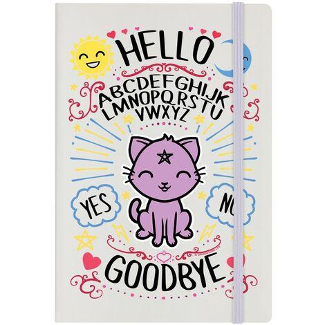 Grindstore Kawaii Ouija A5 Notebook (A5) (Multicoloured)