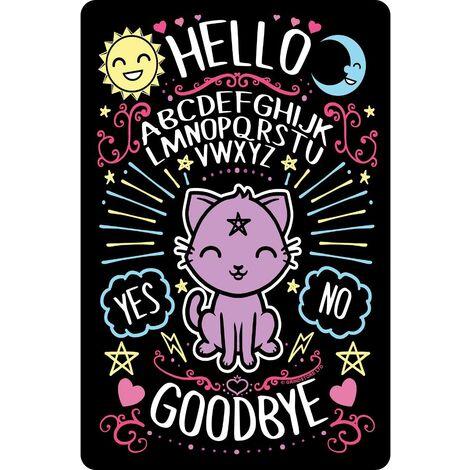 Grindstore Kawaii Ouija Plaque (One Size) (Multicoloured)