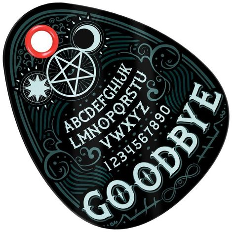 Grindstore Ouija Glass Chopping Board (One Size) (Black)