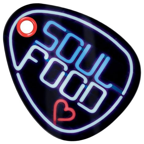 Grindstore Soul Food Glass Chopping Board (One Size) (Black)