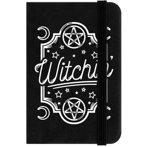 Grindstore Witchin` Mini Notebook (One Size) (Black)