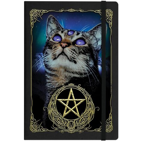 Grindstore Witchy Familiar A5 Notebook (One Size) (Black)