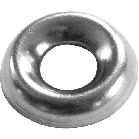 GRIPTITE SCREW CUP WASHER - NICKEL PLATED