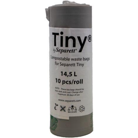 GRIS - 10 - 10 SACS COMPOSTABLES POUR TOILETTE-SÈCHE TINY SEPARETT - gris