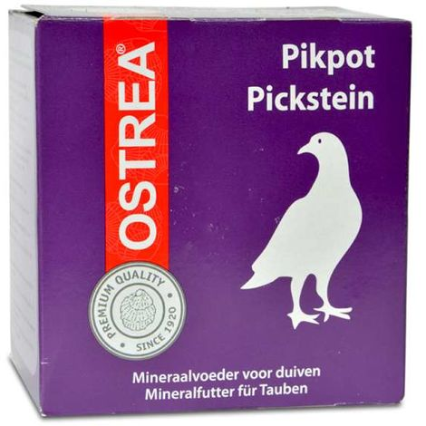 Grit, complément alimentaire riche en minéraux, pour pigeons