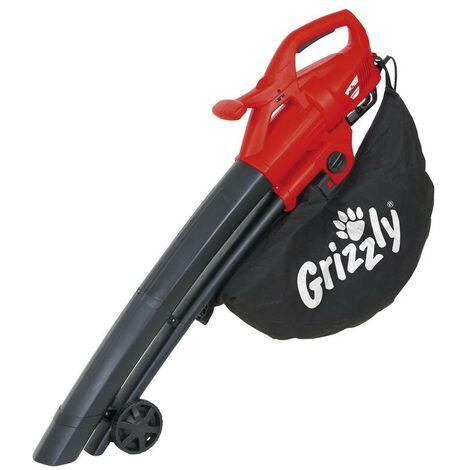 Grizzly Souffleur-aspirateur électrique de feuilles - ELS 2614-2 F - 2600W
