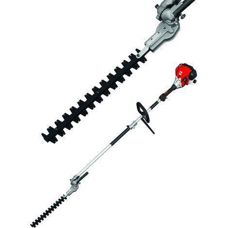 Grizzly Taille-haie télescopique à essence BHS 25 l