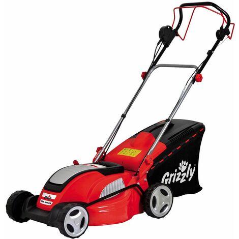 Grizzly Tondeuse électrique ERM 1846 GTA avec chassis en acier autotractée, 1800 W - 72050421