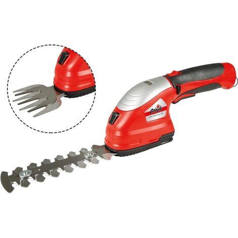 Grizzly Tools Grizzly Accu Jeu de ciseaux à gazon et à arbustes - batterie et chargeur inclus - AGS 3680-2 D-Lion