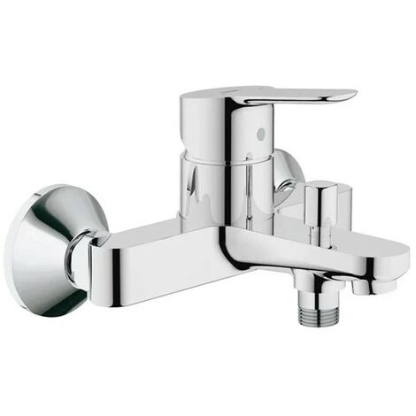 Grohe 23334 BauEdge Single Lever Mono Bath Shower Mixer Tap 1/2 Inch Wall Mount