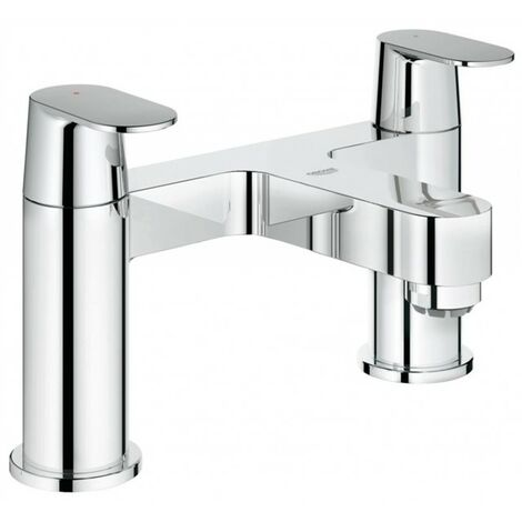 Grohe 25128 Eurosmart Cosmo Two Handled Deck Mounted Bath Filler Tap Lever