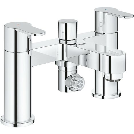 """main image of """"Grohe 25217 BauEdge Two-Handled Deck Mounted Bath Shower Mixer Tap"""""""