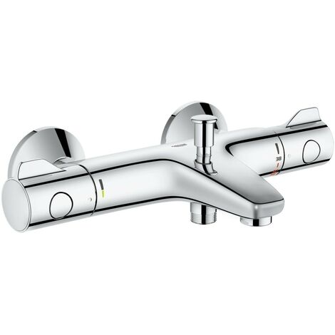 Grohe 34569000 800 Thermostatic Bath Shower Mixer 1/2 Valve Wall Mounted