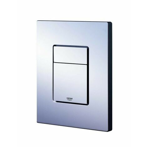 """main image of """"Grohe 38732 Chrome Cosmo Dual Flush Wall Plate for Horizontal Vertical"""""""