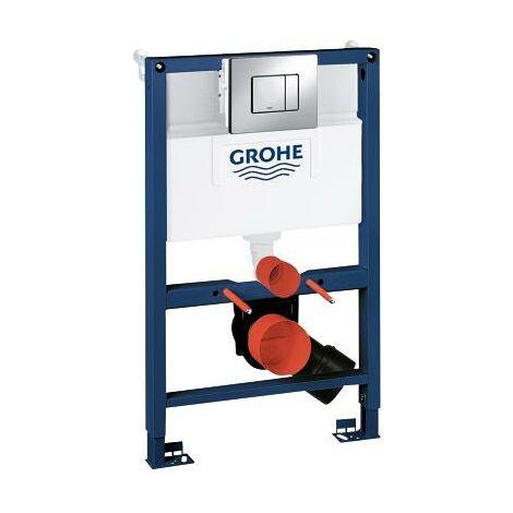 GROHE 38773000 Frame Rapid Sl 3 - 1 Set Wall Hung Toilet 0.82 m Dual Flush Plate