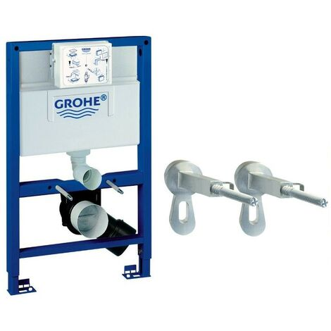 Grohe 38948 Rapid SL 2 in 1 WC Set incl. 0.82m Concealed Frame and Cistern