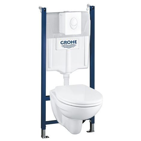 grohe 39398000 solido compact wand wc installationselement alpin wei