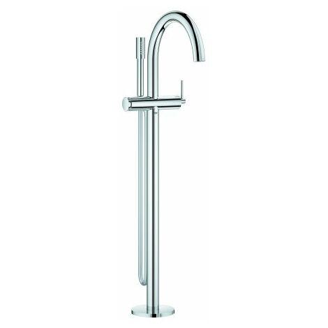 Grohe Atrio monomando de baño, montado en el suelo, desviador automático baño/ducha, proyección de 301 mm., color: cromado - 32653003