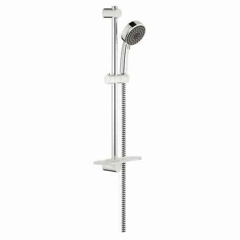 GROHE Barre de douche + douchette sans robinet Vitalio Comfort 100 III 26096000 - 60 cm (Import Allemagne)