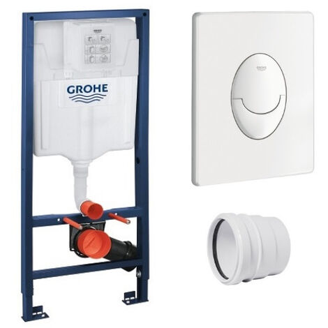 GROHE - Bati support Rapid SL + plaque de commande Skate Air