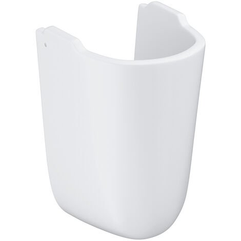 Grohe Bau Ceramic Cache-siphon, blanc alpin (39426000)