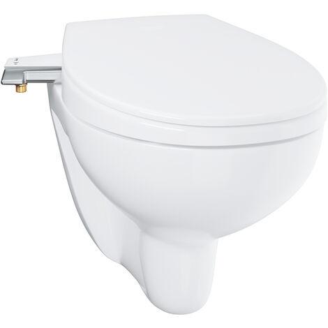 Grohe Bau Ceramic cuvette WC suspendu sans bride avec abattant japonais lavant (BauPremium)