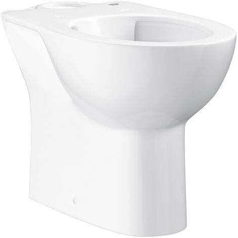 Grohe Bau Ceramic Floor standing WC for close coupled combination, Alpine White (39349000)