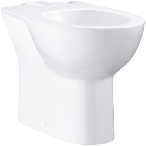Grohe Bau Ceramic Floor standing WC for close coupled combination, alpine white (39428000)