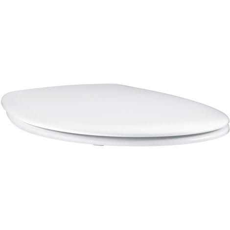 "main image of ""Grohe Bau Ceramic toilet seat, white (39493000)"""