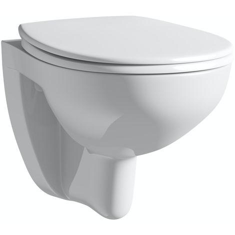 Grohe Bau Ceramic Wall hung WC set, Alpine White (39351000)